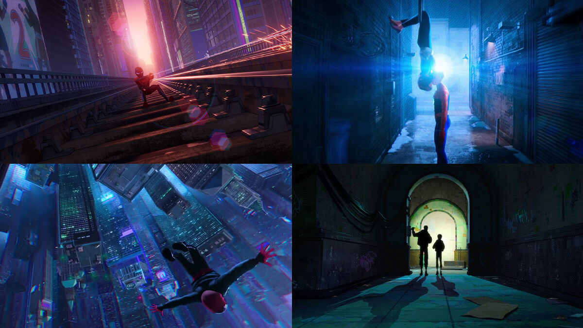 Spiderverse Animated Film Stills