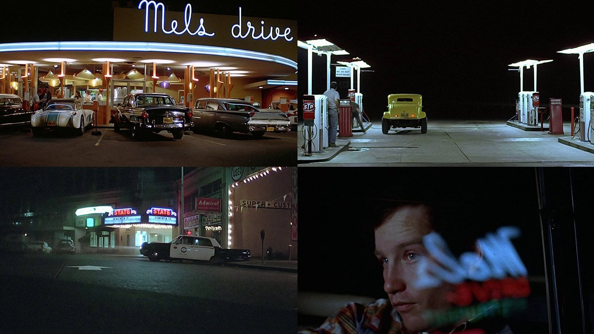 American graffiti movie visuals