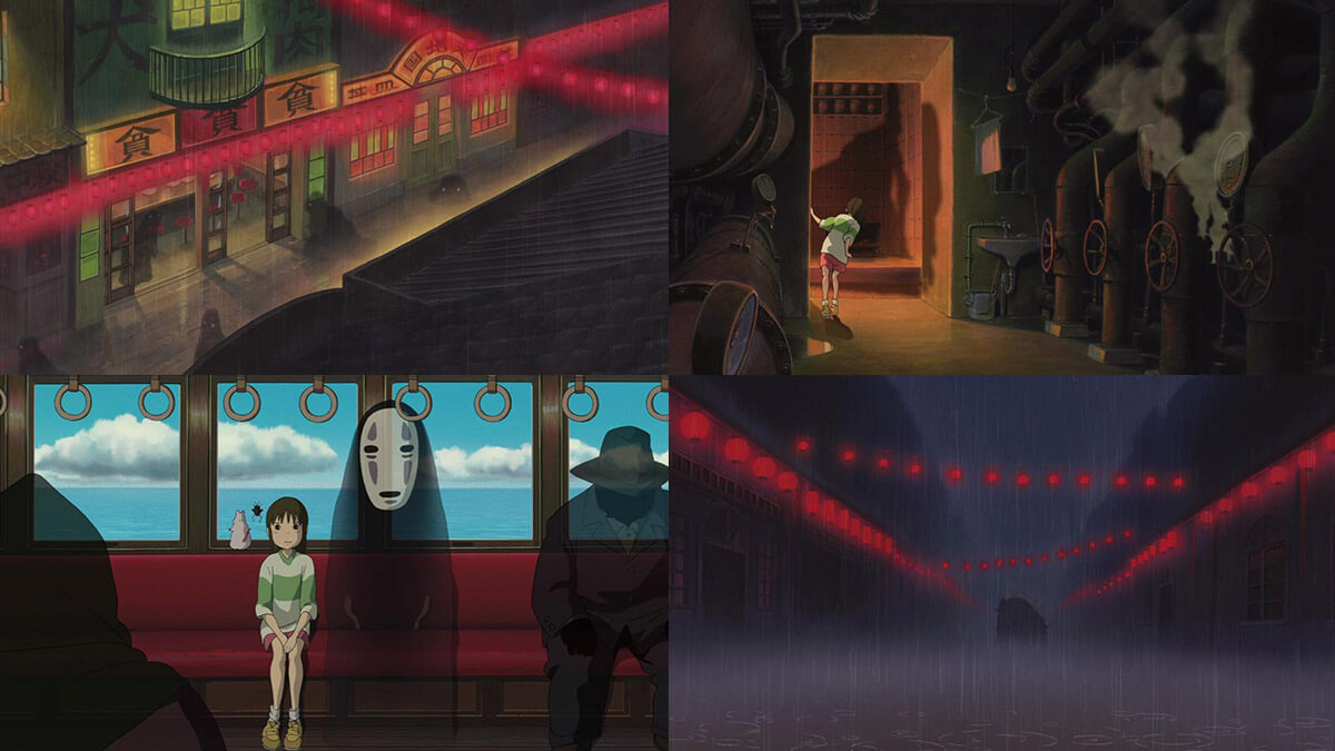 Great Animation from Spirited Away