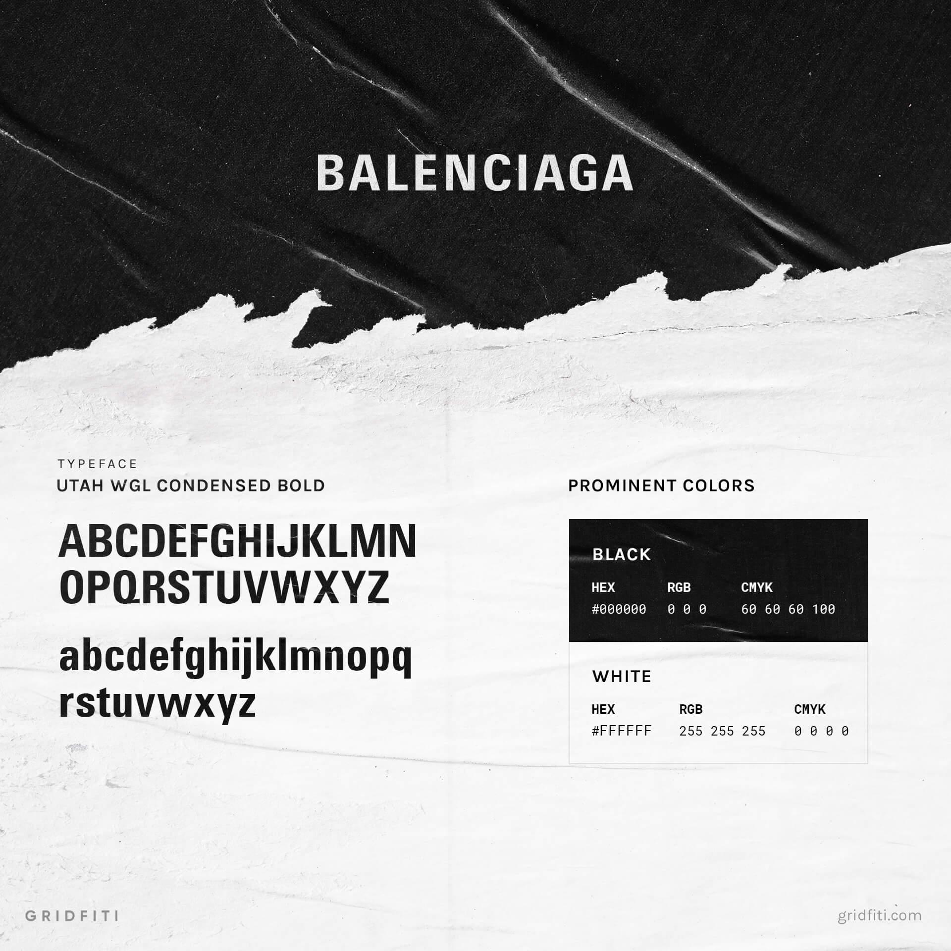 Balenciaga Font