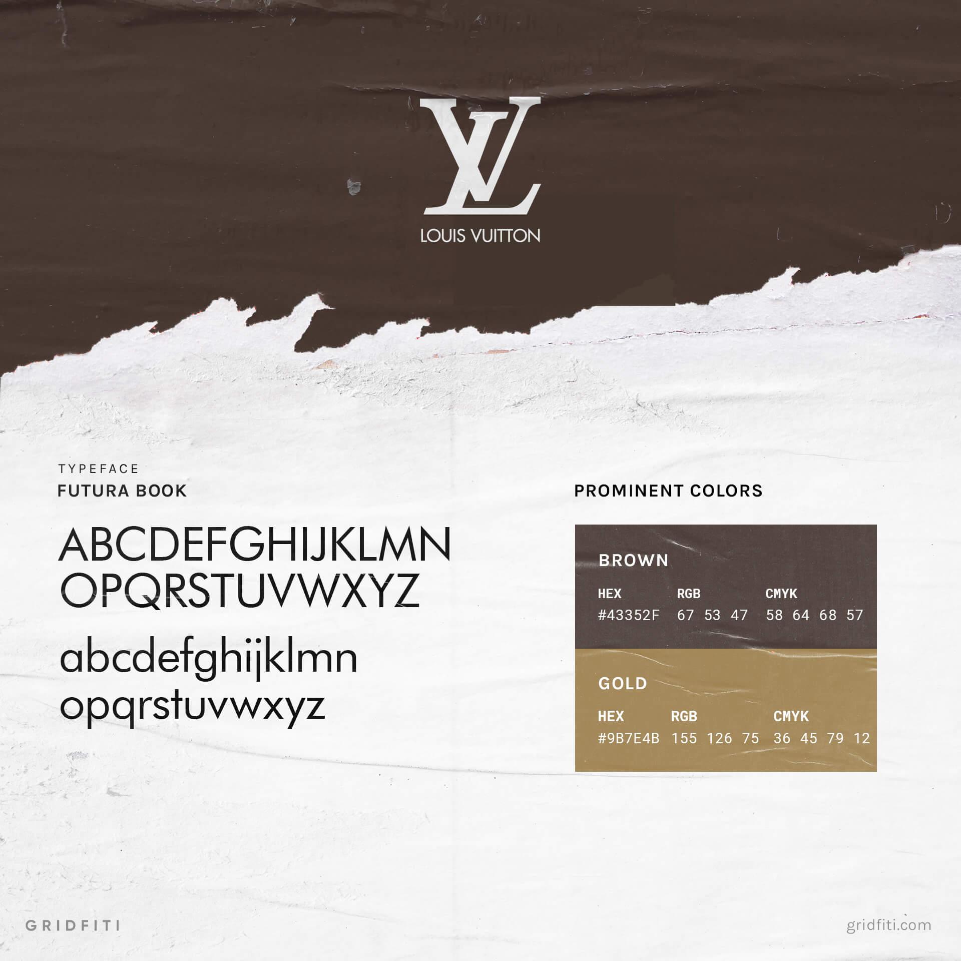 Louis Vuitton Font & Logo