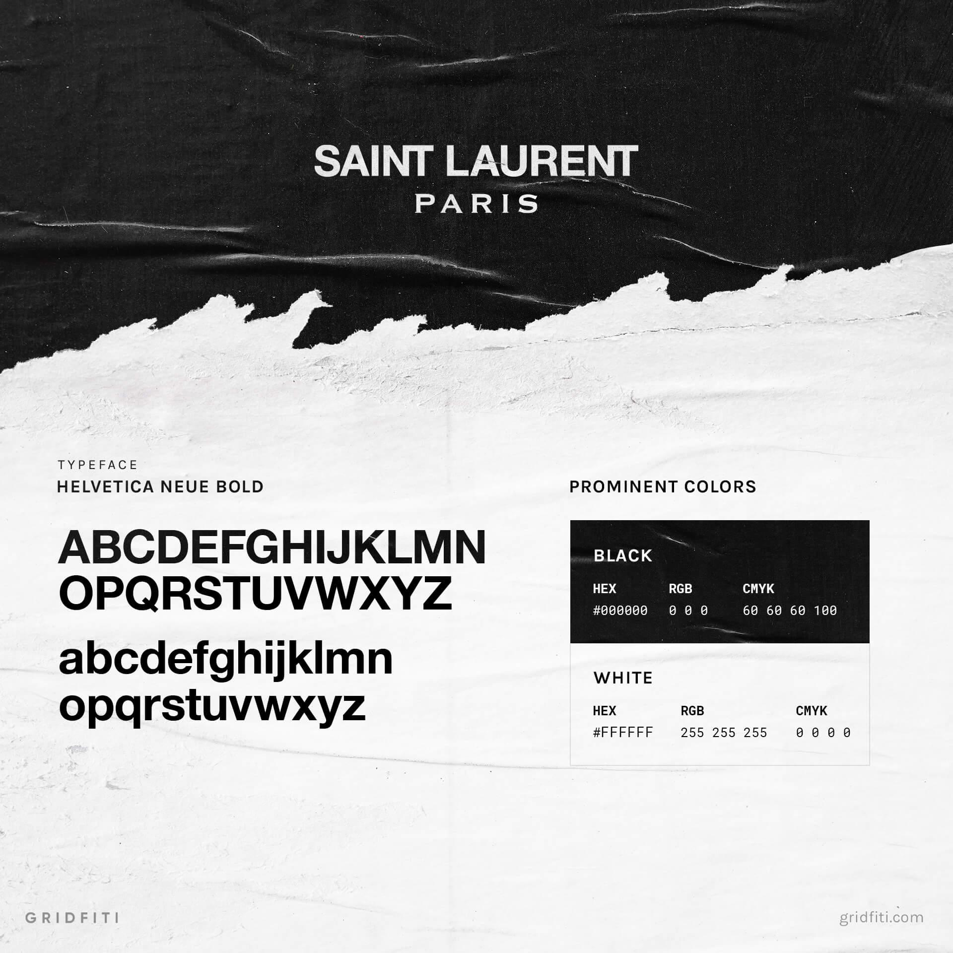Yves Saint Laurent Font