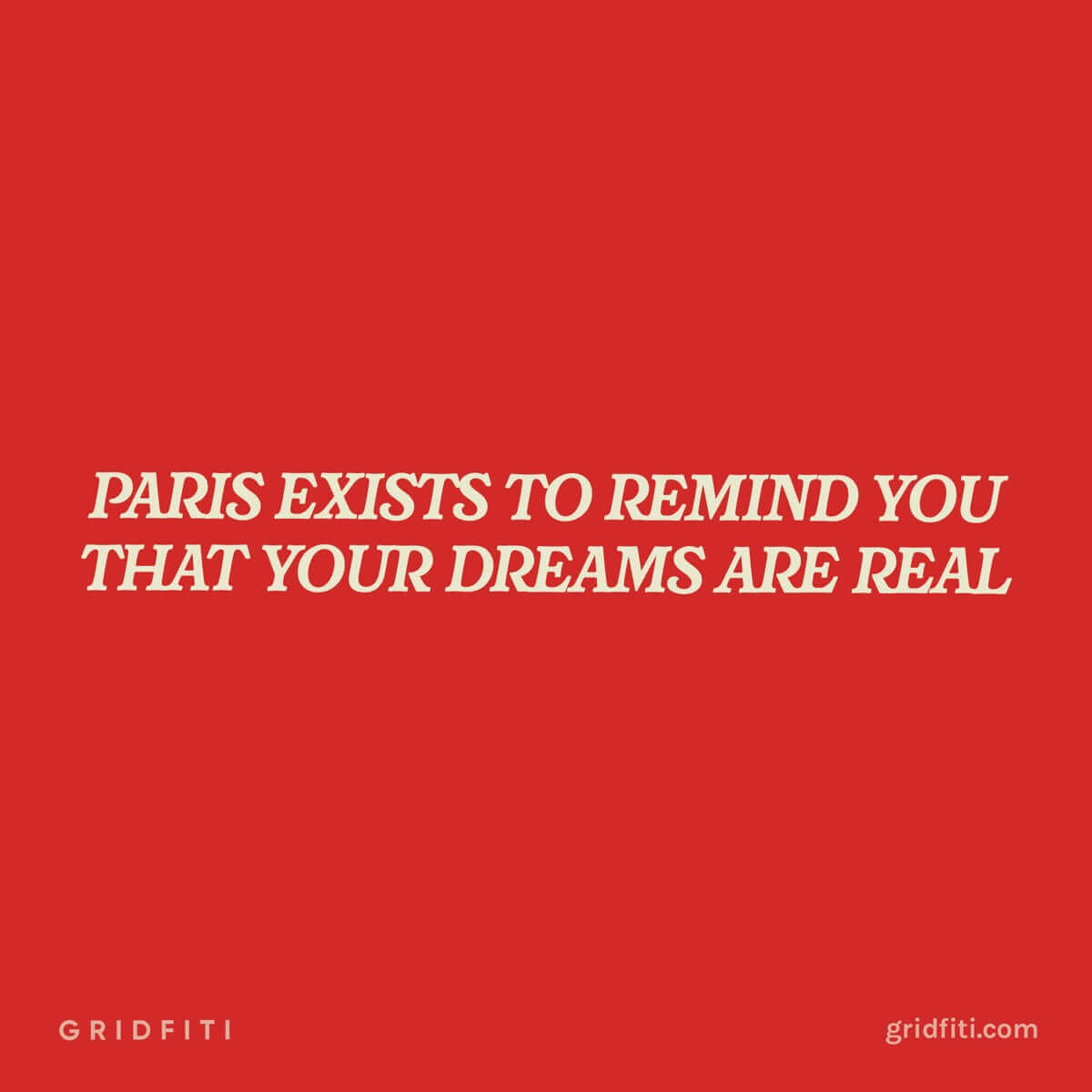 Quote about Paris Dreams