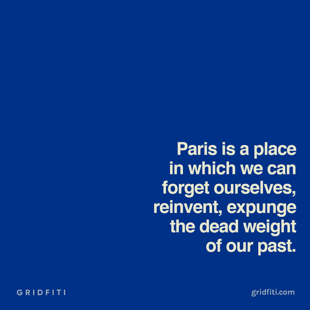 Favorite Paris quote