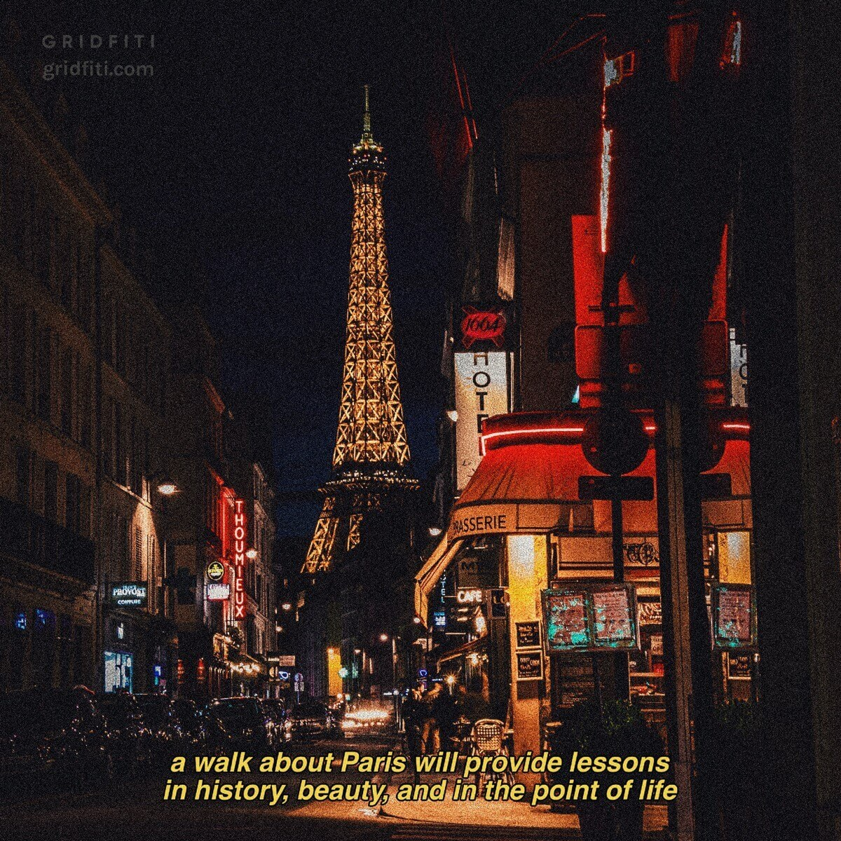 Eiffel Tower Quote