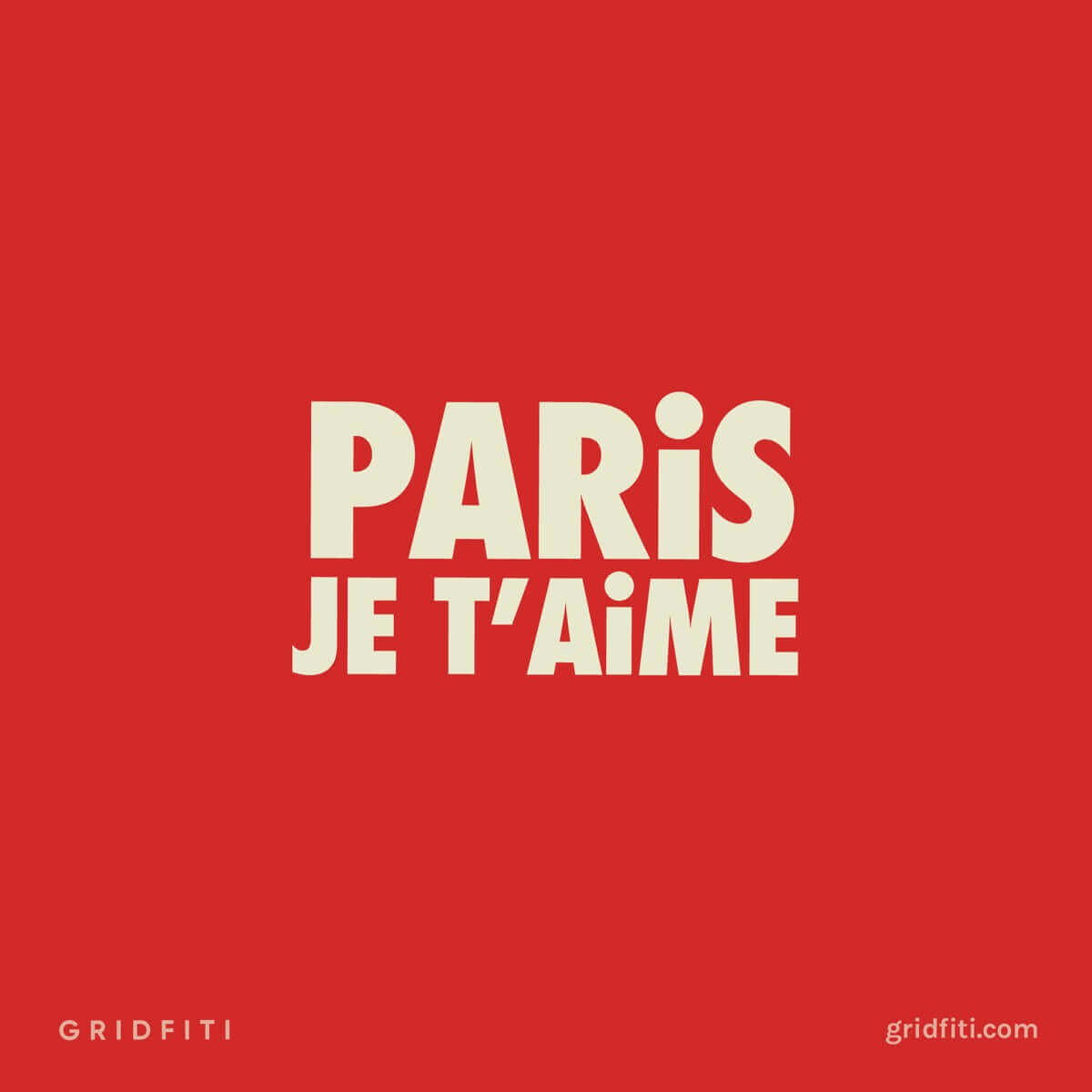 Paris Je T'aime (Paris, I love you) Quote