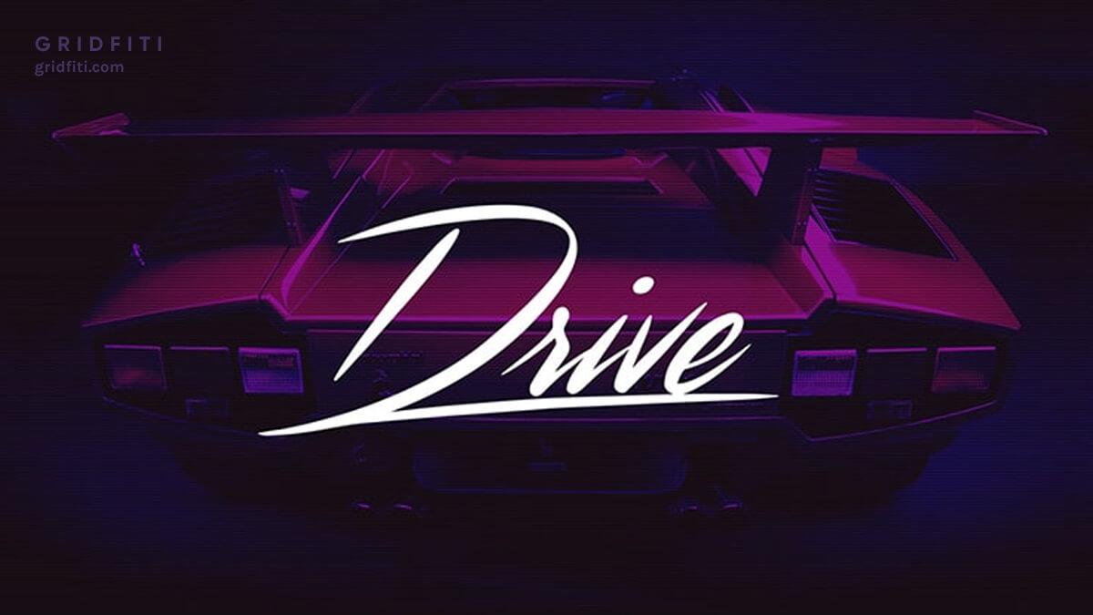 Vaporwave - Aesthetic Cursive Font