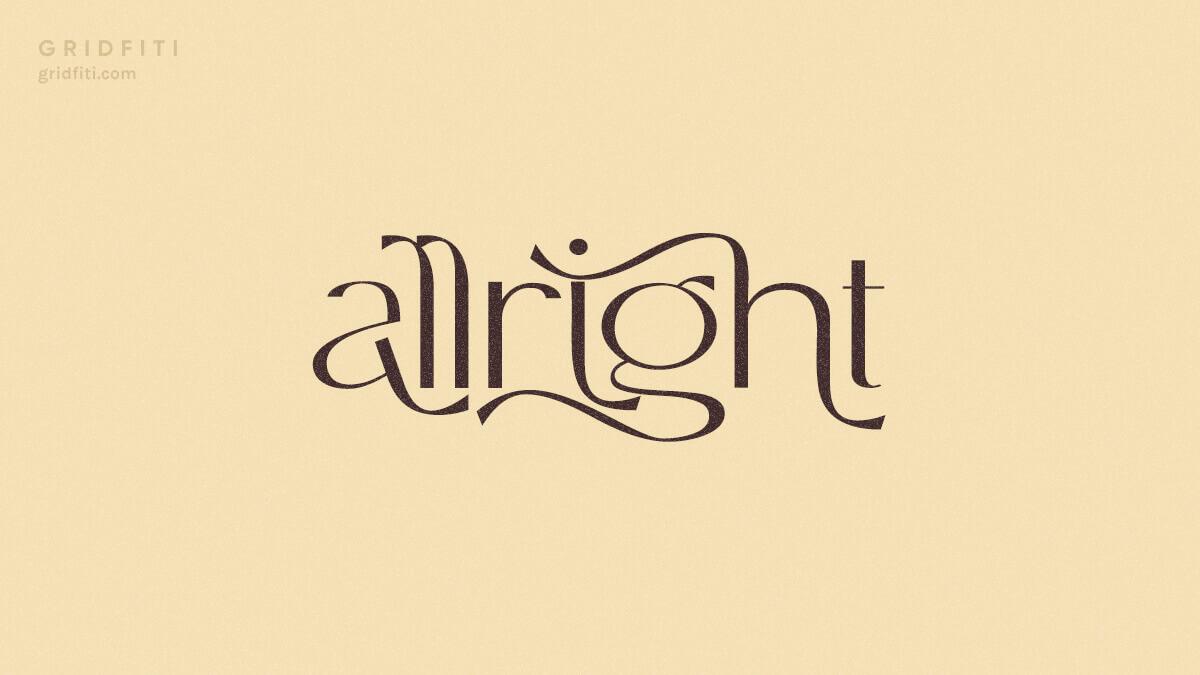 Aesthetic Sans Serif Fonts