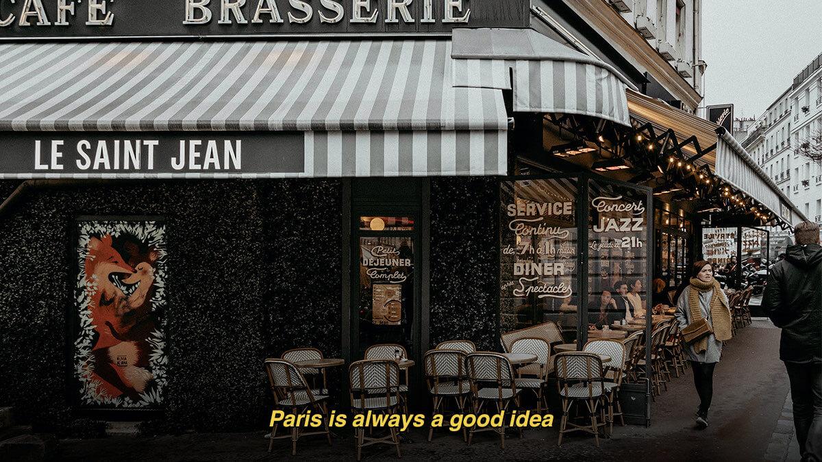 Famous Paris Quotes & Sayings