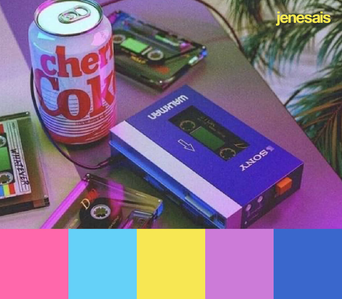 80s Color Palette