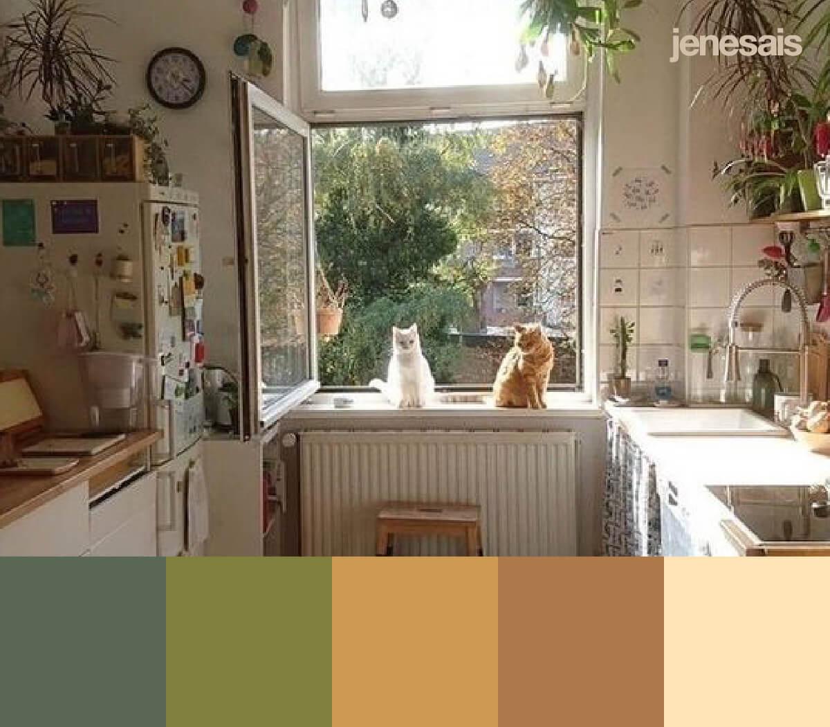 Cottagecore Aesthetic Color Palette