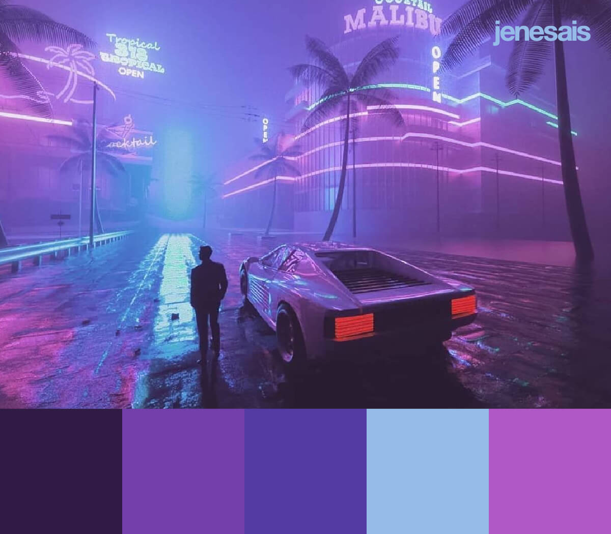 Cyberpunk Color Palette