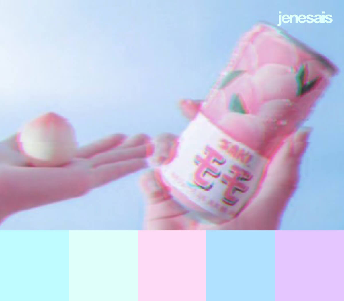 Kawaii Pastel Color Palette