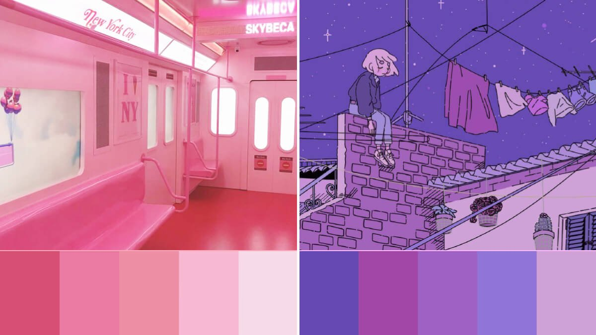 Most Aesthetic Color Palettes