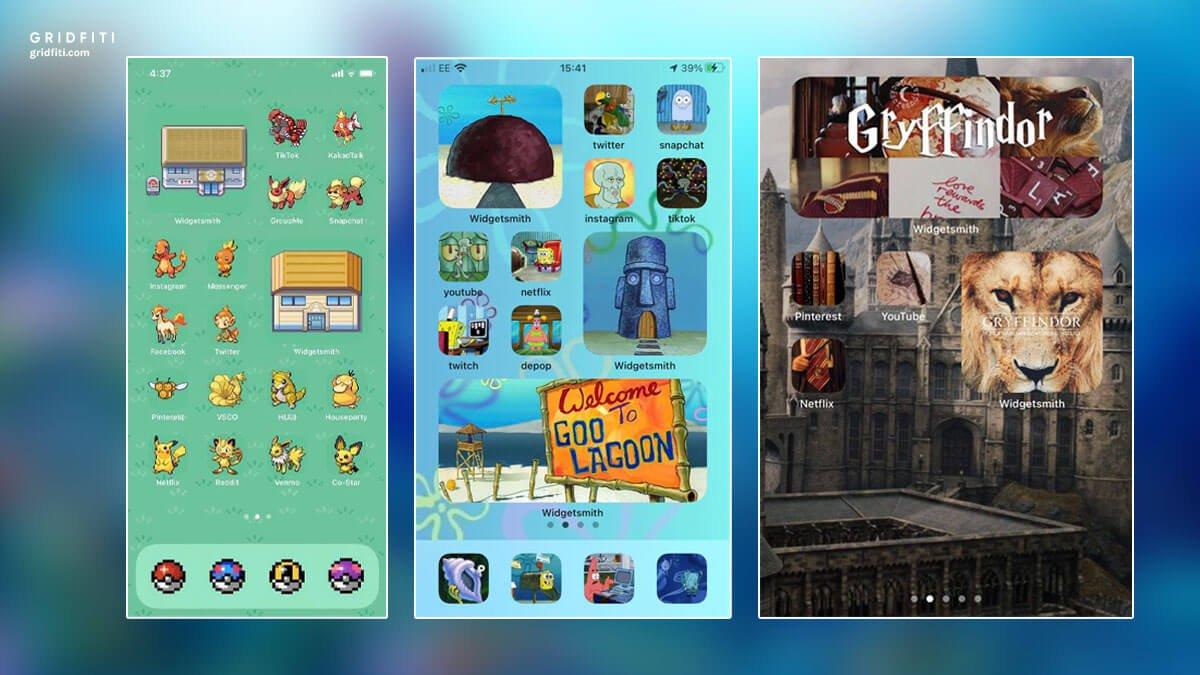 Franchise Themed iOS App Layout Ideas