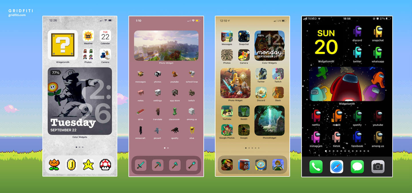 Gaming iPhone Home Screen Ideas