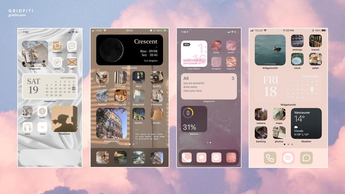 Tumblr Aesthetic iOS 14 Phone Screen Ideas