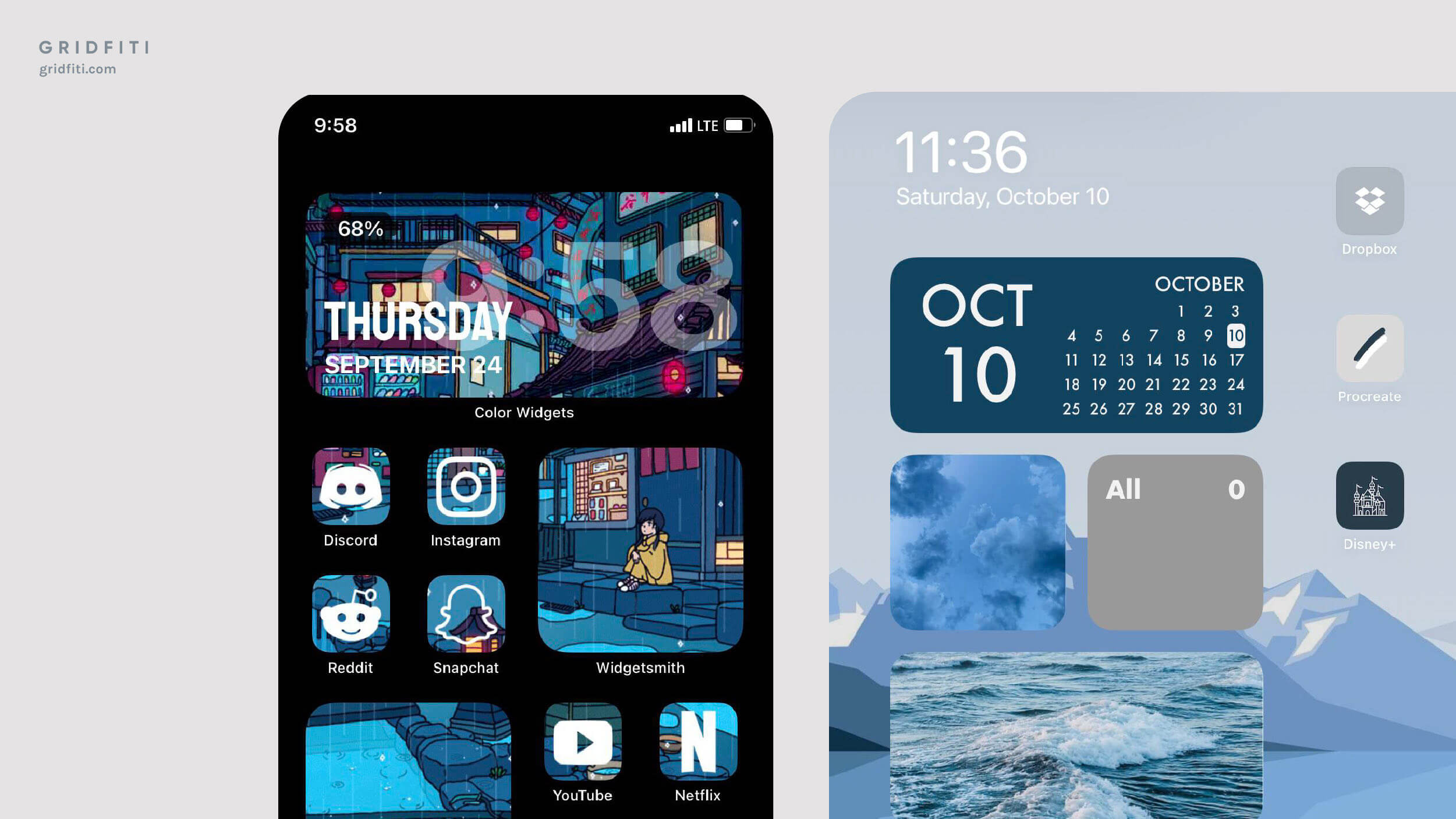 iOS 14 Photo Widget Ideas