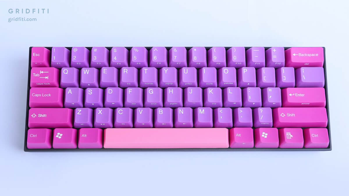 KBParadise 60 Aesthetic Mechanical Keycaps
