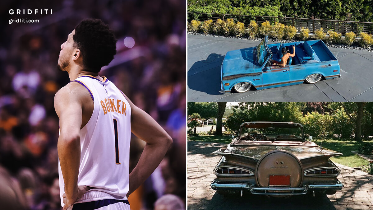 Devin Booker's Car & Truck Collection