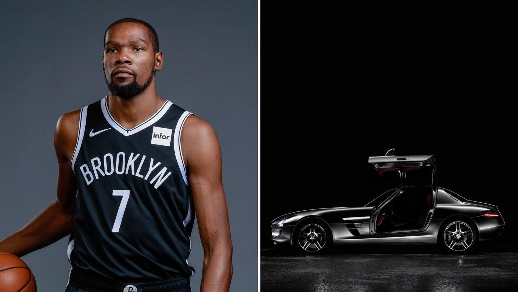 NBA players cars & Basketball Star Cars