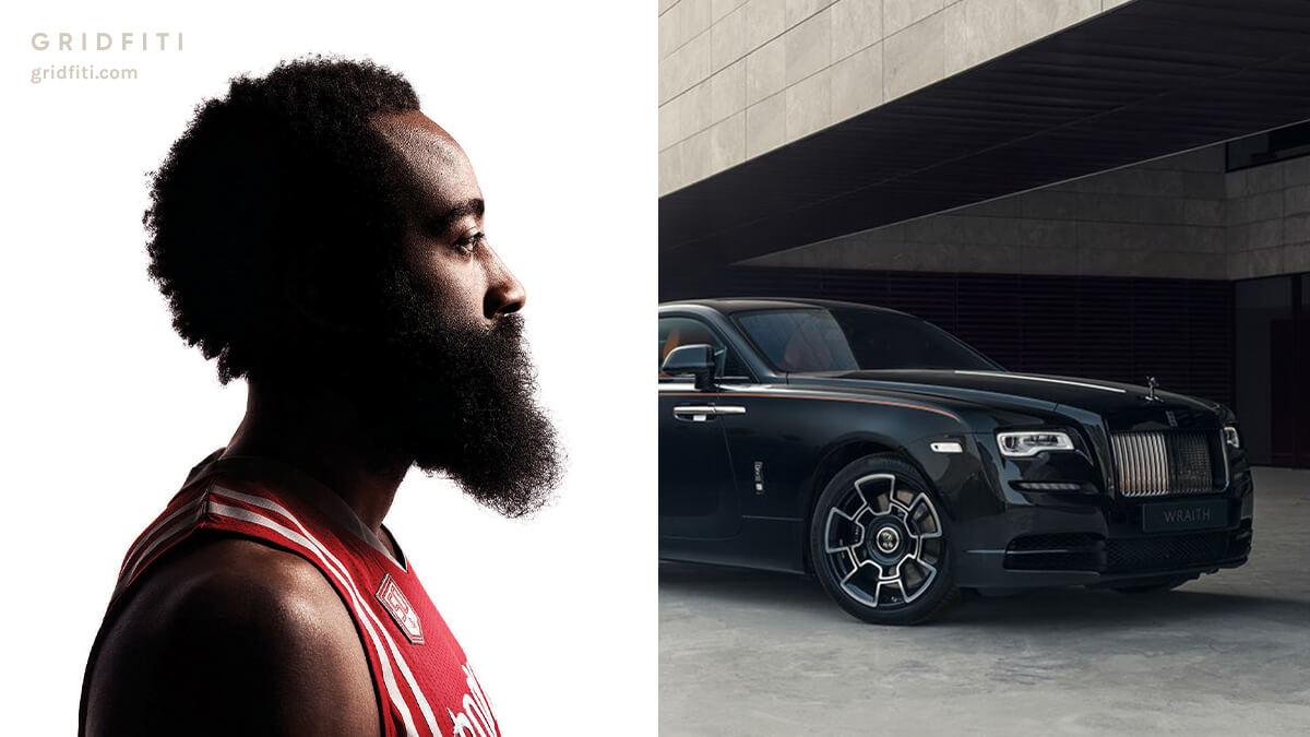 NBA star James Harden car