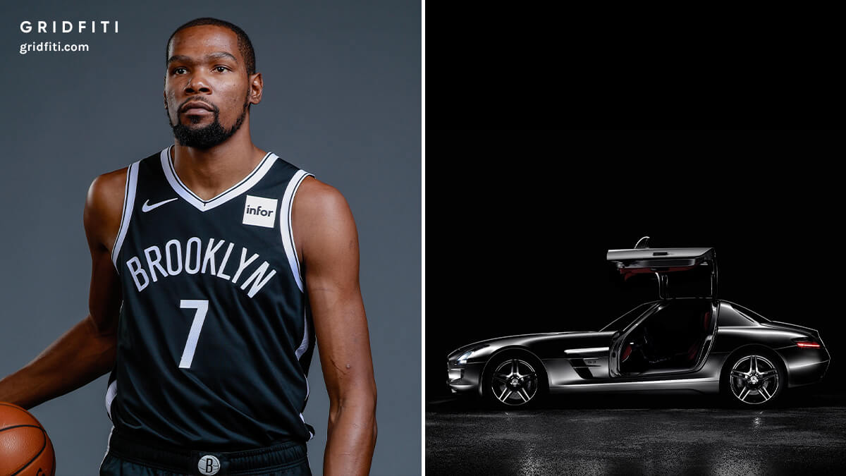 Kevin Durant Cars (Mercedes)