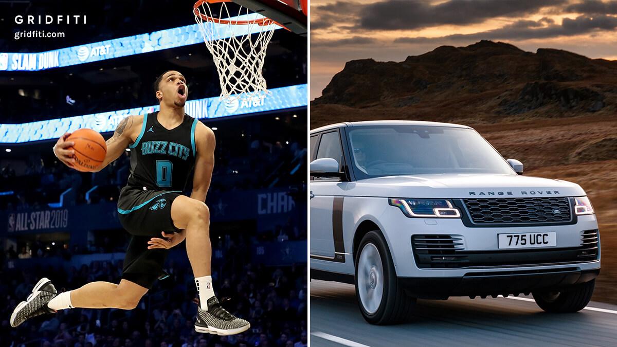 NBA Player Miles Bridges Car