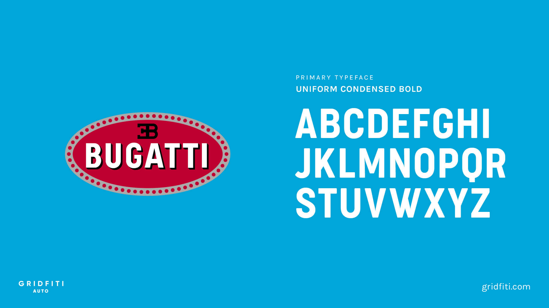 Bugatti Font