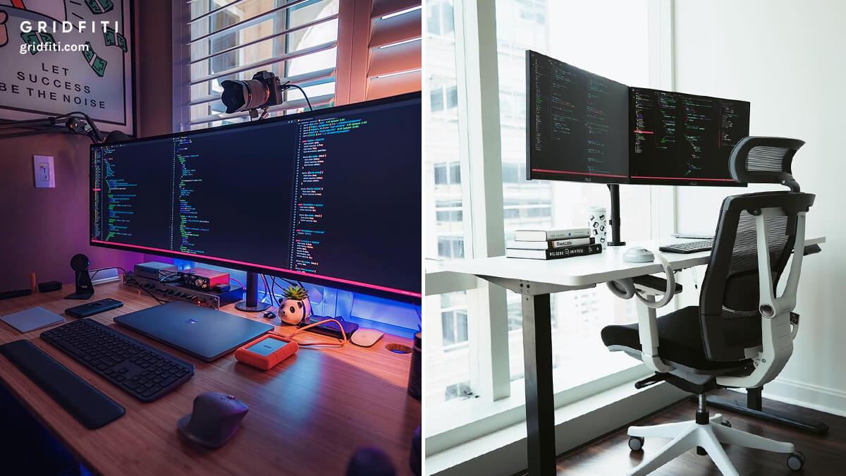 Developer & Programmer Desk Setup