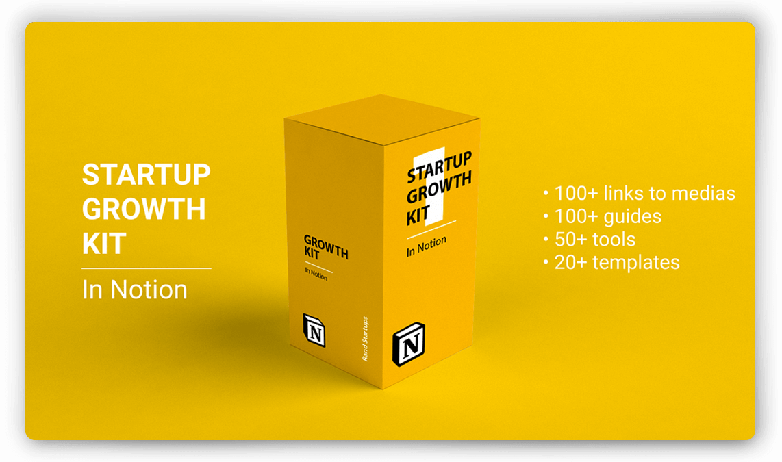 Startup Growth Kit Template