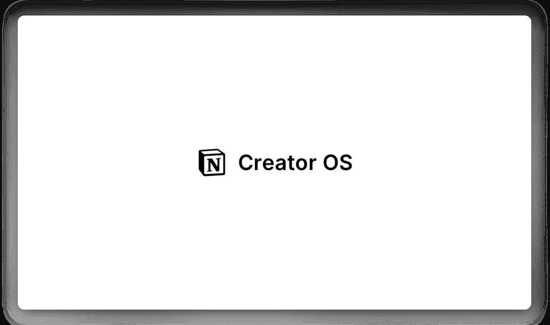 Notion Creator OS