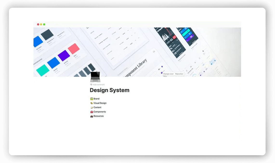 Notion Design System Template Pack