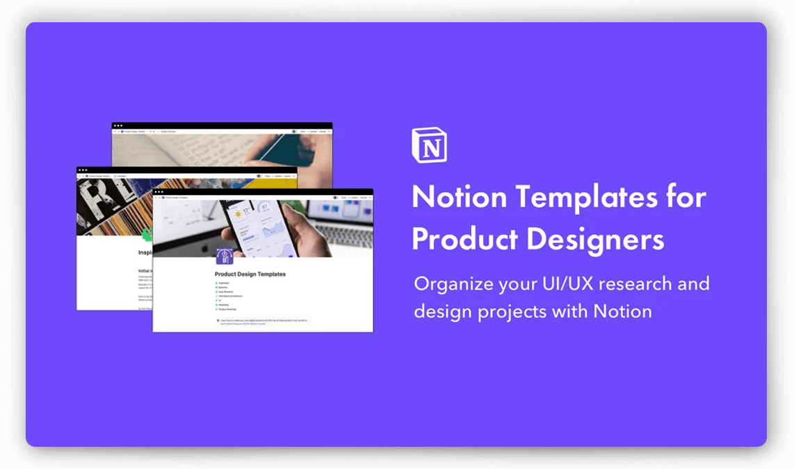 Notion Templates for Product Designers