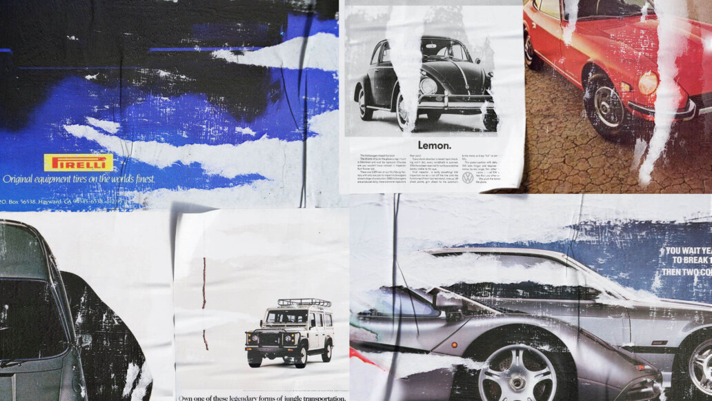 17+ Iconic Vintage Car Ads
