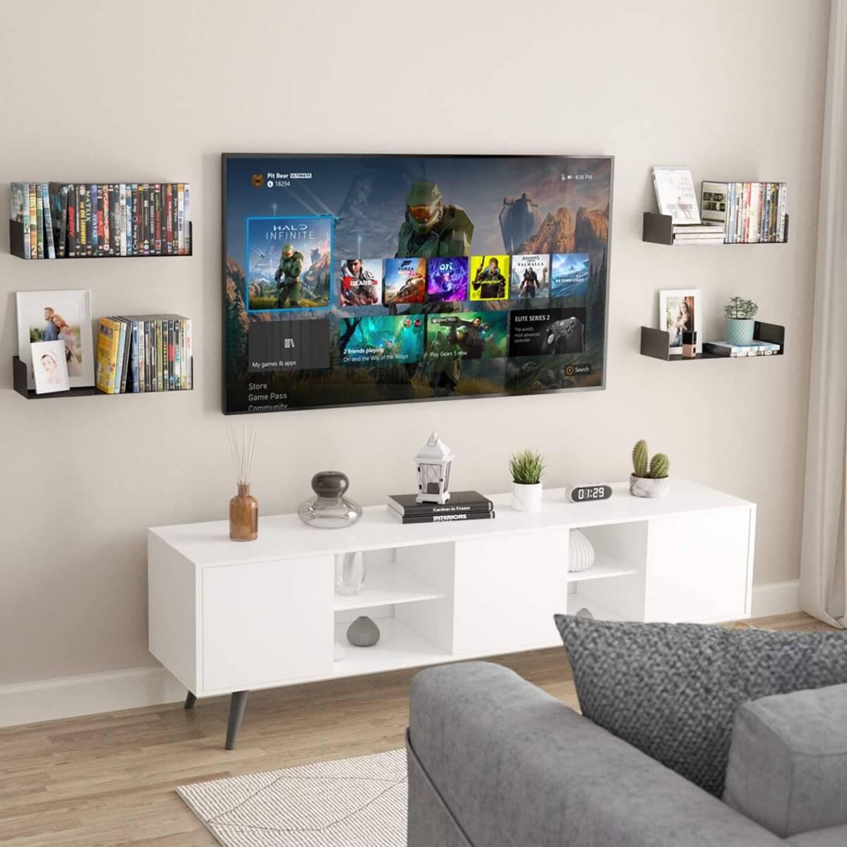 Video Game Storage & Gaming Shelves