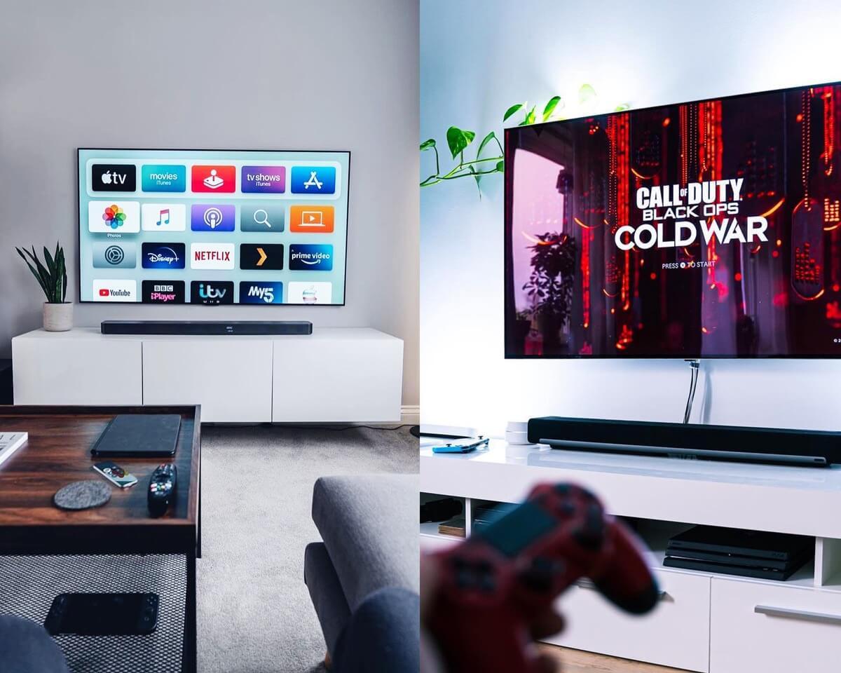 Minimalist Gaming TV Stand