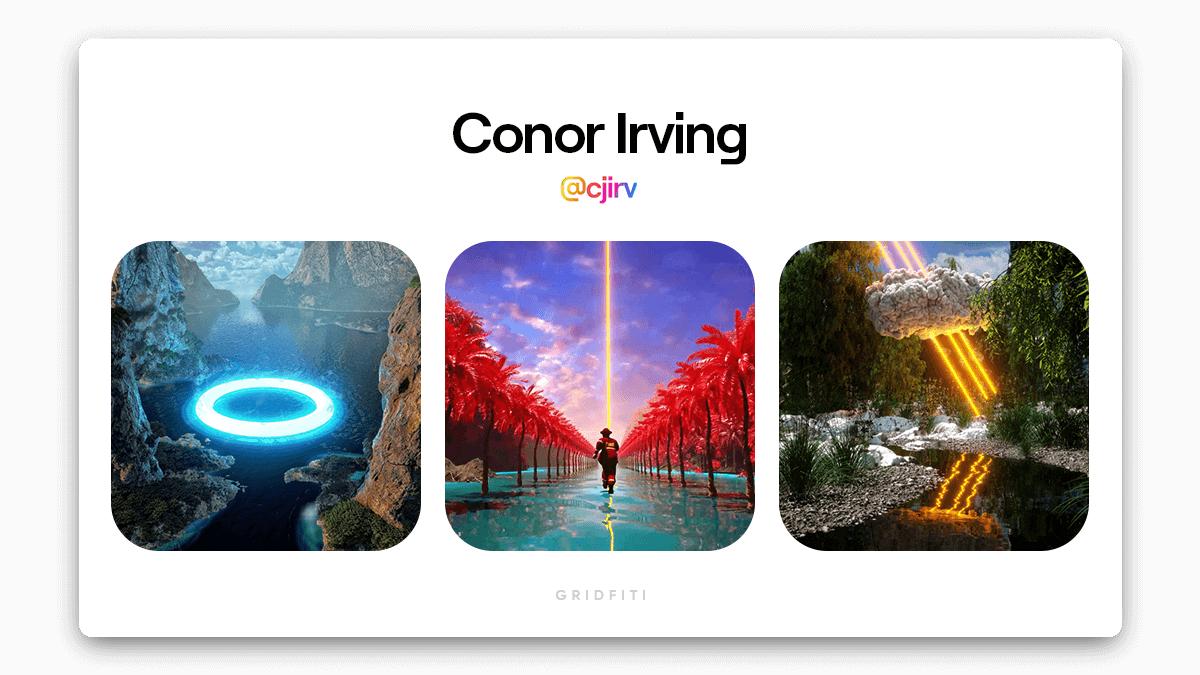 Conor Irving: Surreal 3D NFT Art