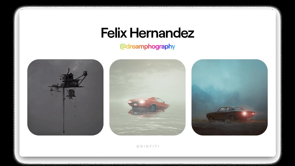Felix Hernandez: Atmospheric & Miniatures NFT Art