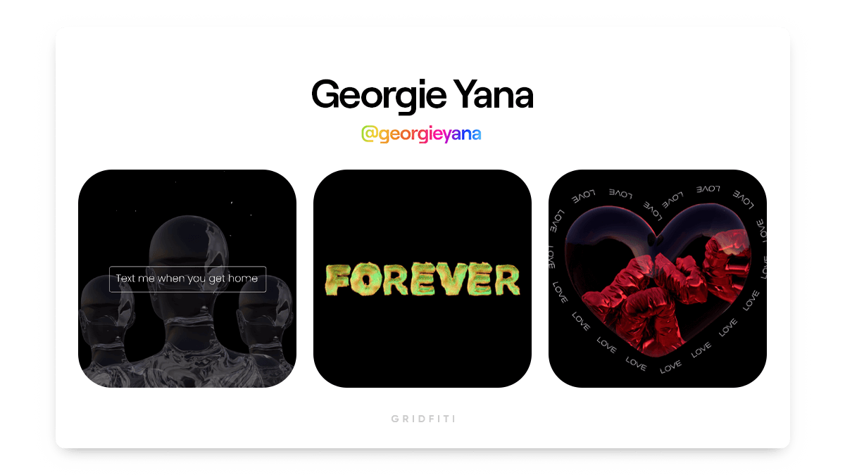 Georgie Yana: Typography NFT Artist