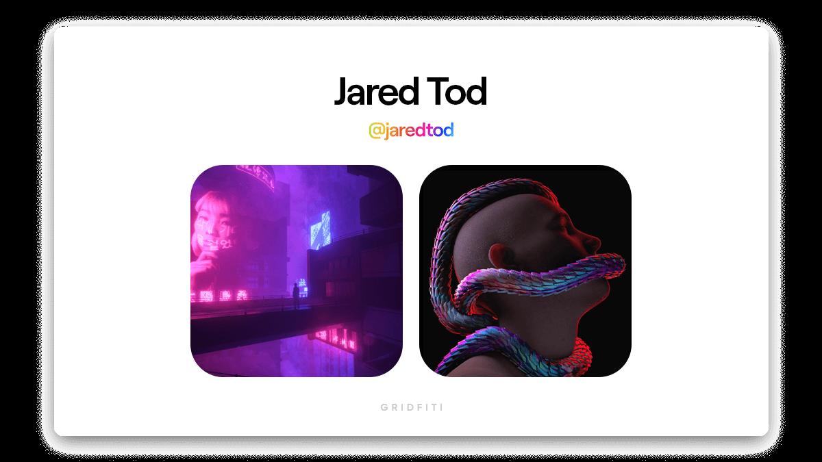 Jared Tod: Cyberpunk NFT Art