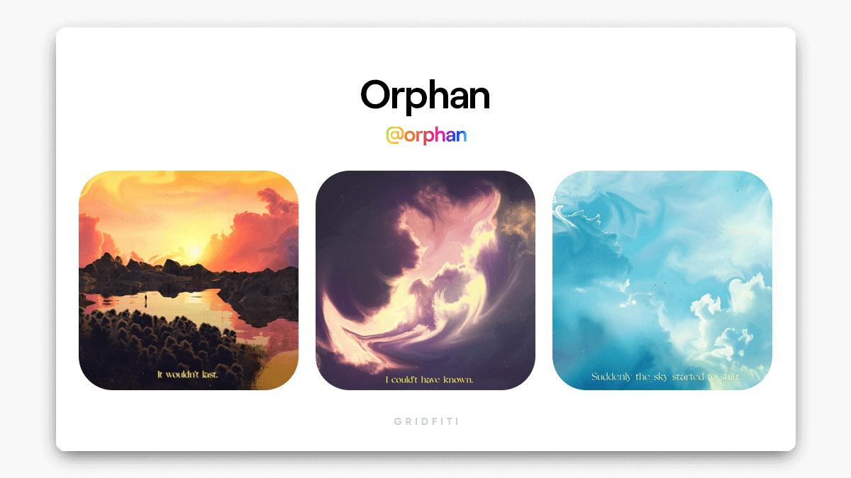 Orphan Dreamy Cloud NFT Artist