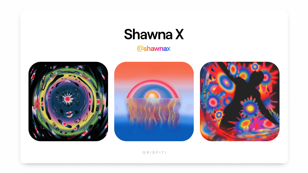 Shawna X: Colorful Abstract NFT Artist