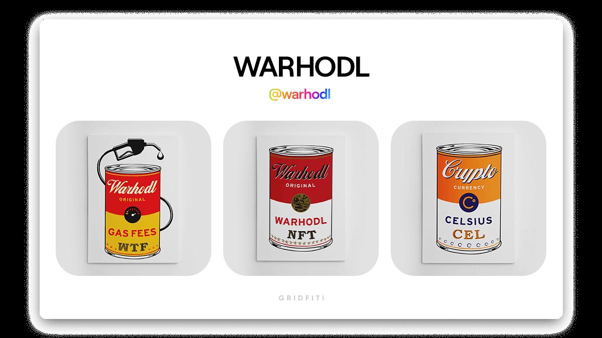WARHODL: Pop Culture Art NFT