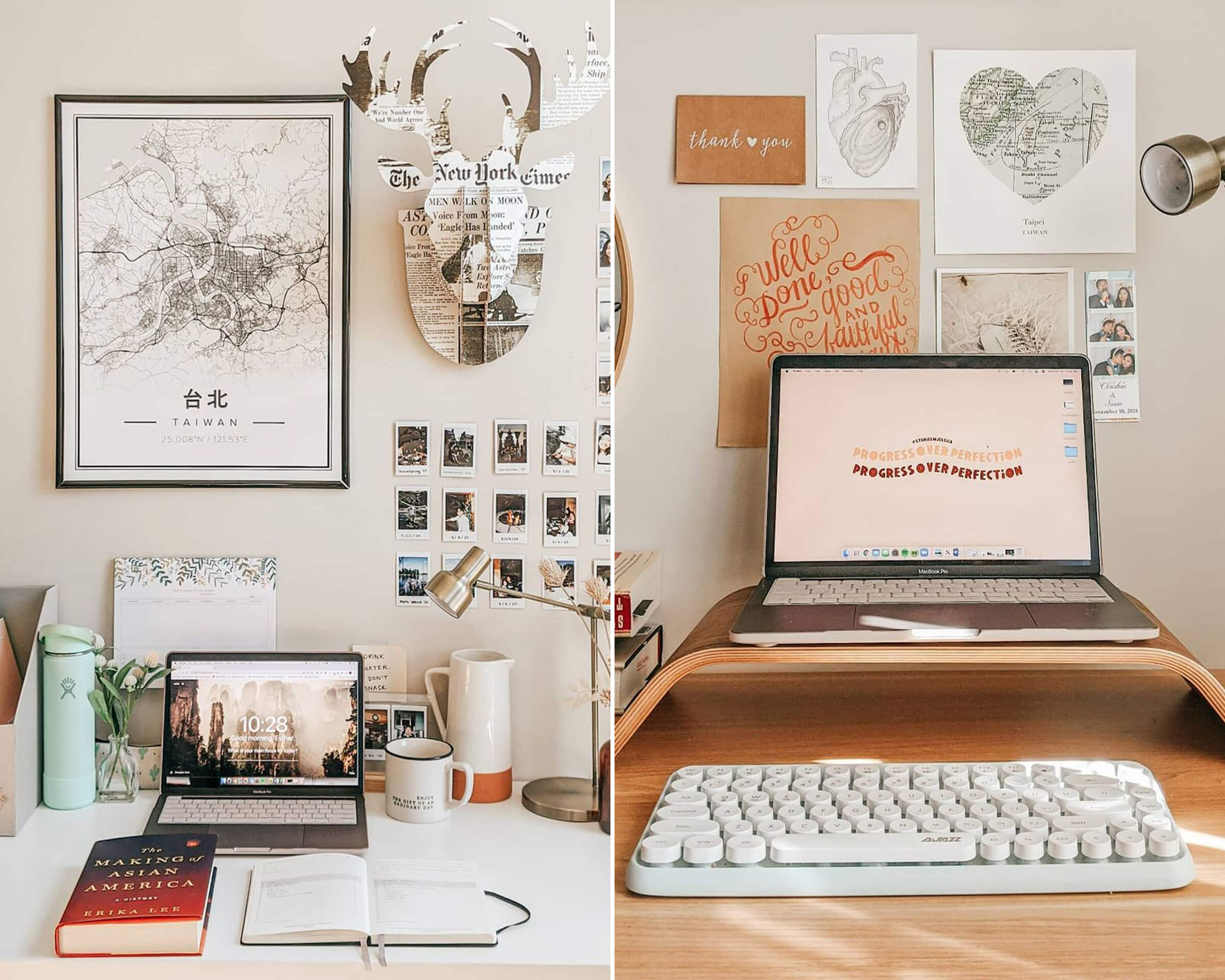 Aesthetic Desk Wall Art & Decor