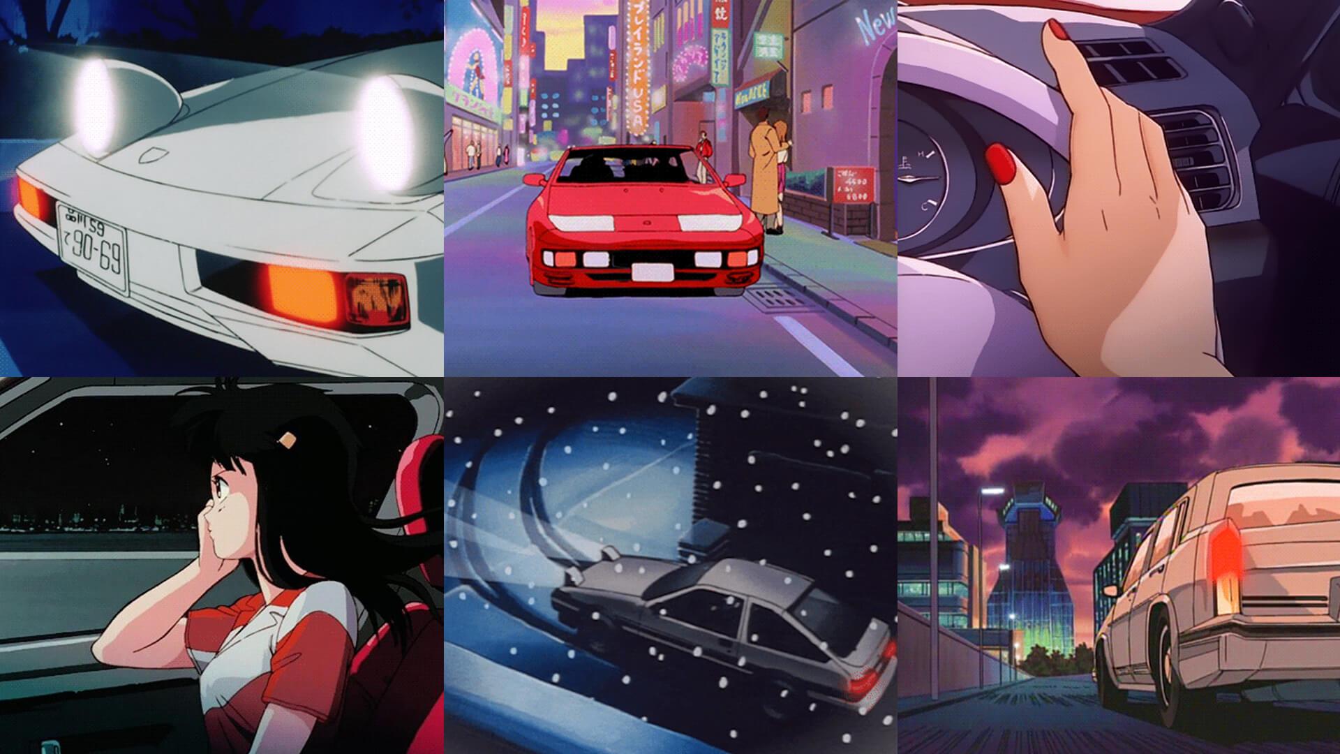 Anime Car Aesthetic