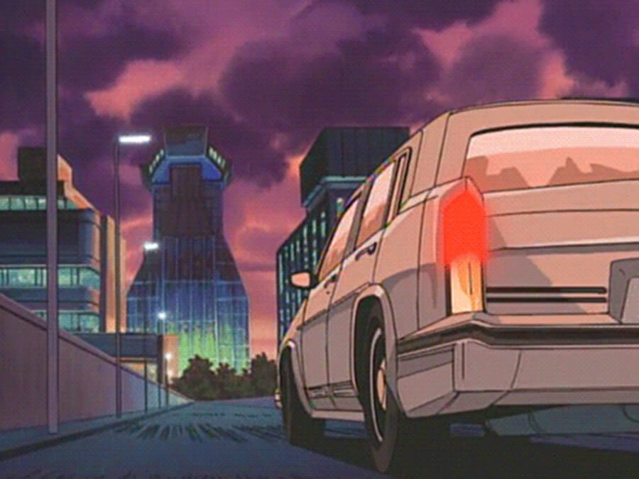Cadillac Dreams - Retro Anime Car