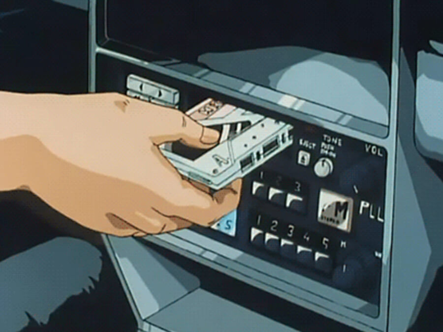 Cassette Tape Car Anime
