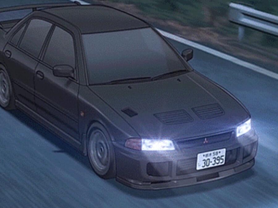Mitsubishi EVO III Anime Car