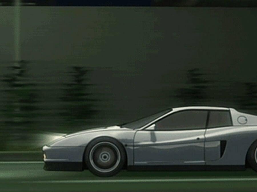 Supercar Anime Ferrari Testarossa